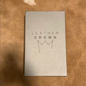 Leather Crown
